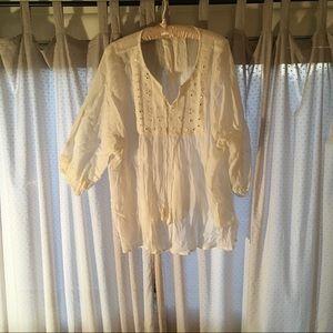 Crepe Cotton Tunic